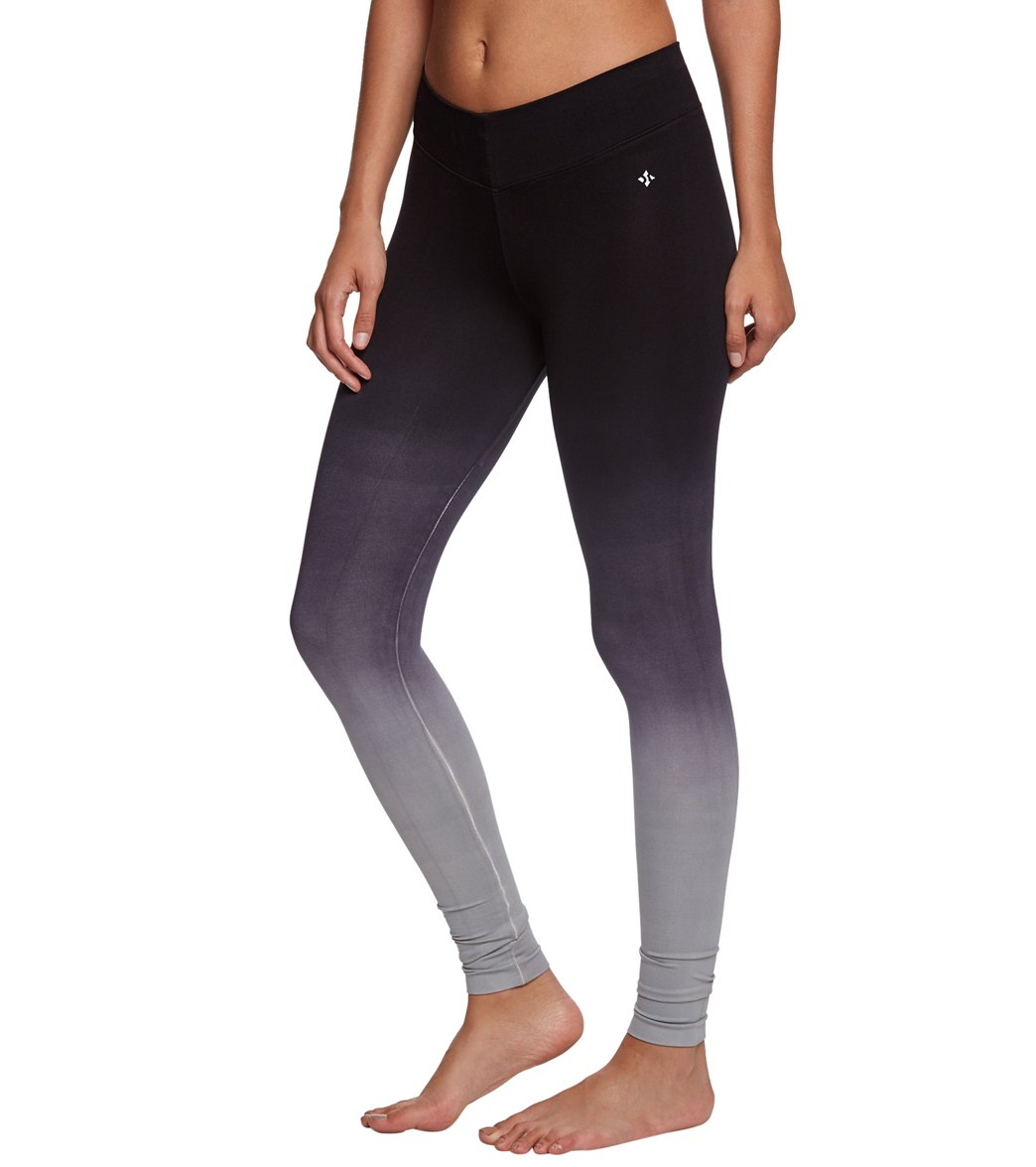 afc78cfcaed4 NUX Ombre V-Ankle Seamless Yoga Leggings at YogaOutlet.com - Free Shipping