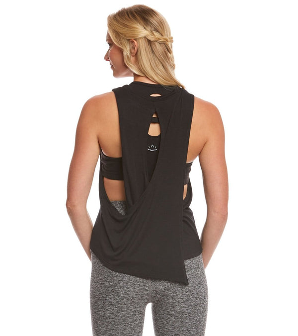 Beyond Yoga Wrap Around Yoga Tank Top