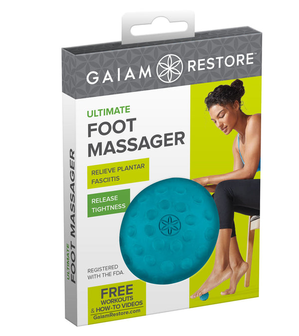 Gaiam Restore Ultimate Foot Massager