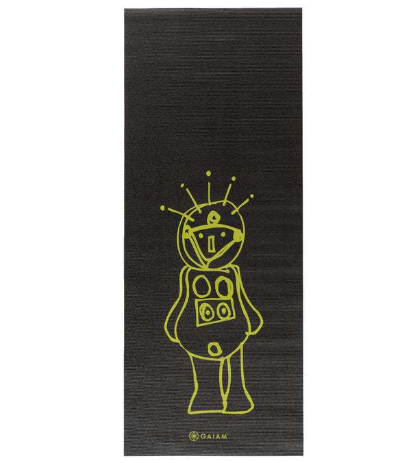 "Gaiam Kid's Roboto Yoga Mat 60"" 3mm"