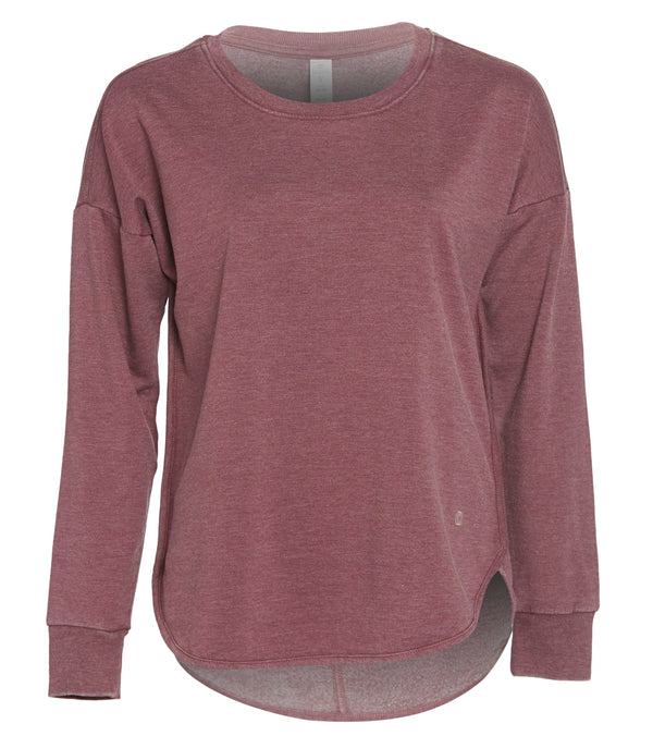 Balance Collection Leanne Peached Fleece Pullover