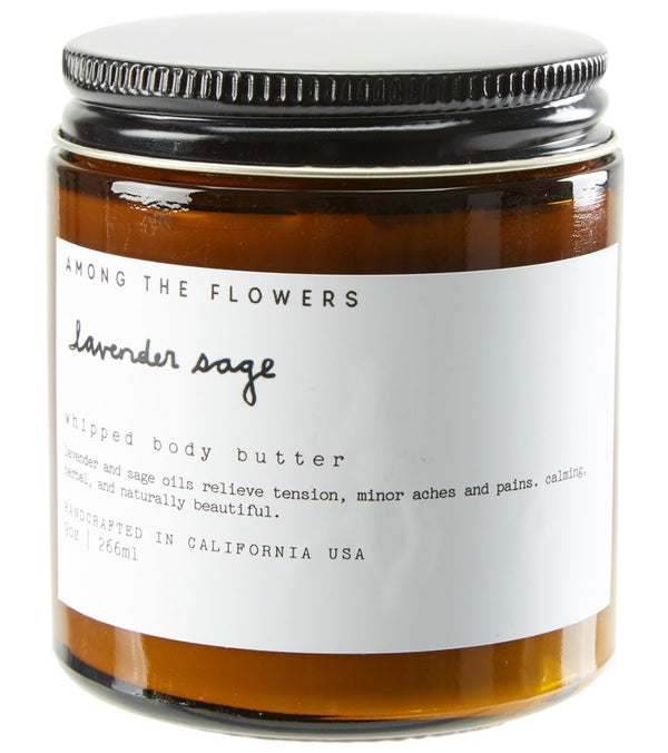 Among The Flowers Lavender Sage Body Butter