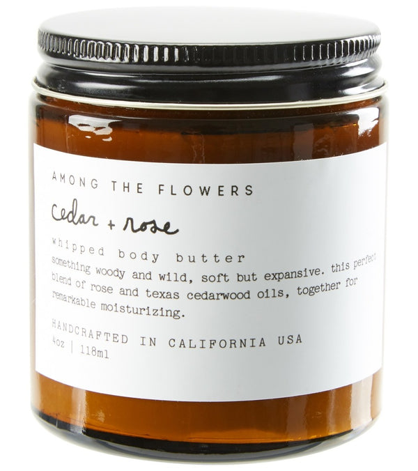 Among The Flowers Cedar + Rose Body Butter