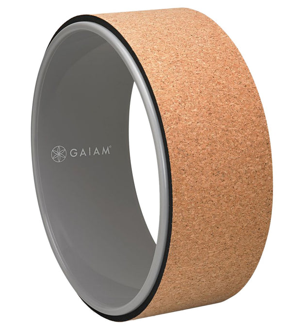 Gaiam Cork Yoga Wheel