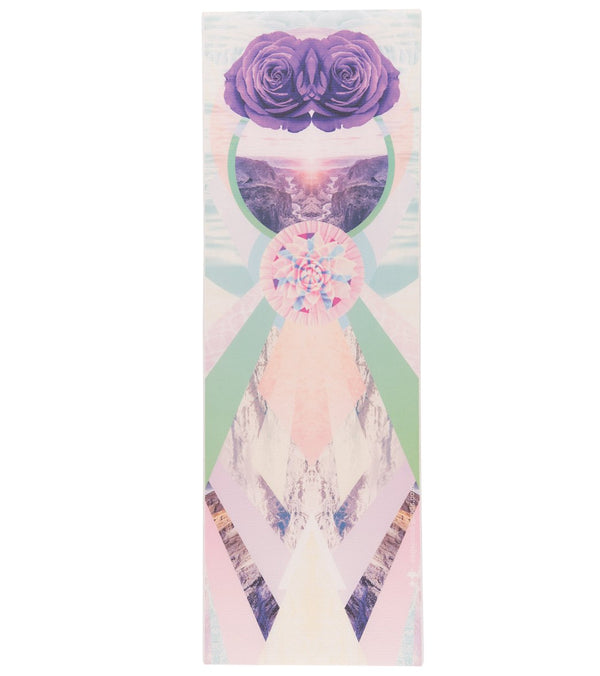 "Vagabond Goods Rose Vision Yoga Mat 72"" 6.4mm Extra Thick"