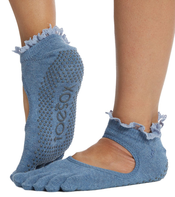 Toesox Bella Half-Toe Yoga Grip Socks
