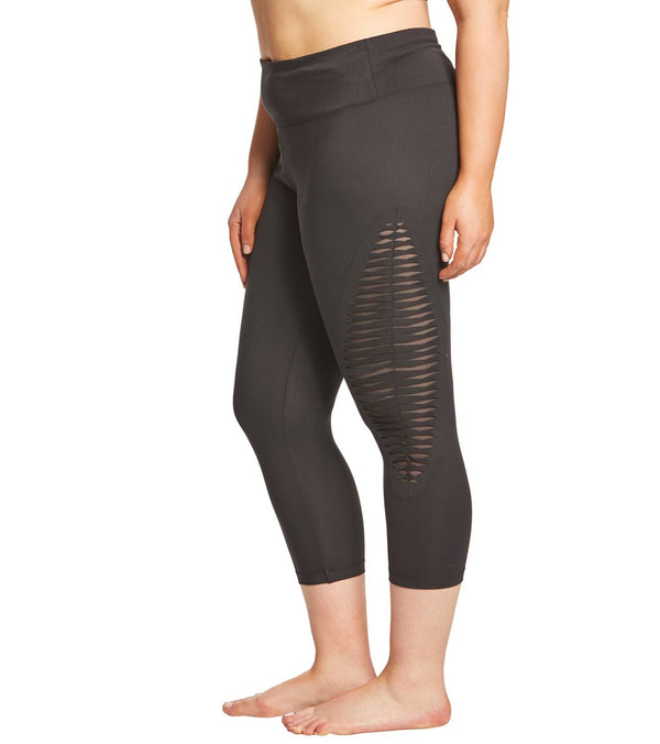 Balance Collection Plus Size Cecilia Yoga Capris
