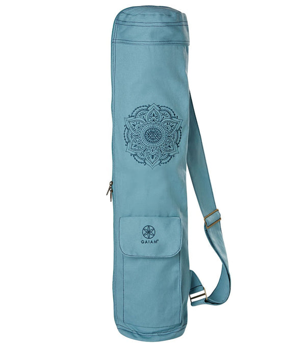 Gaiam Niagara Embroidered Cargo Yoga Mat Bags