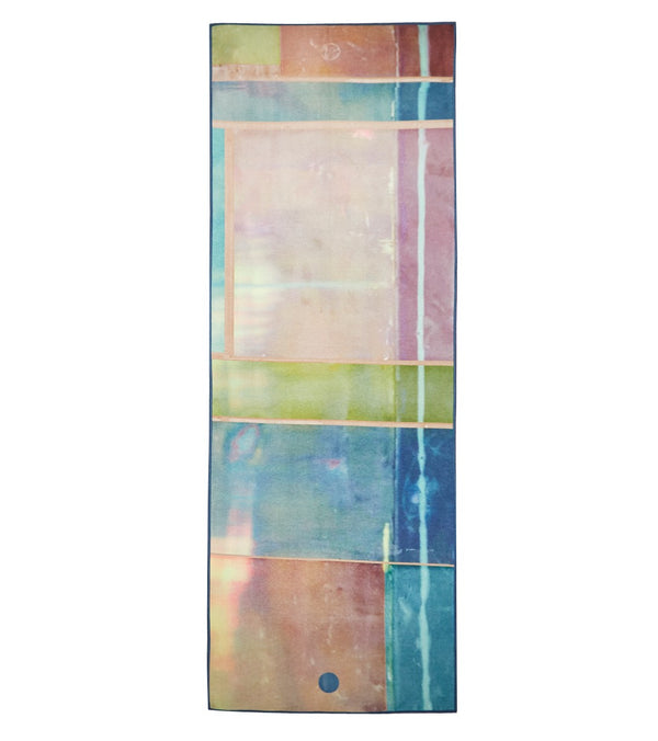 YogiToes Stained Glass rSkidless Yoga Mat Towel