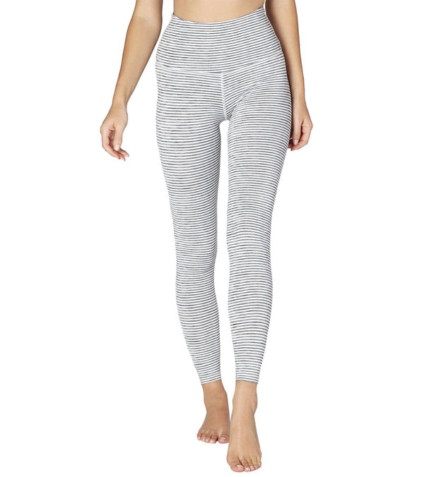 Beyond Yoga Surf Stripe High Waisted 7/8 Yoga Leggings