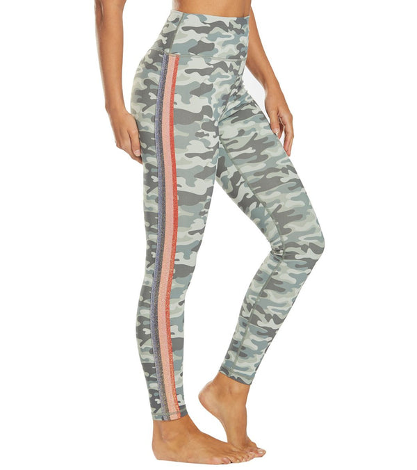Spiritual Gangster Camo Perfect High Waisted Yoga Leggings