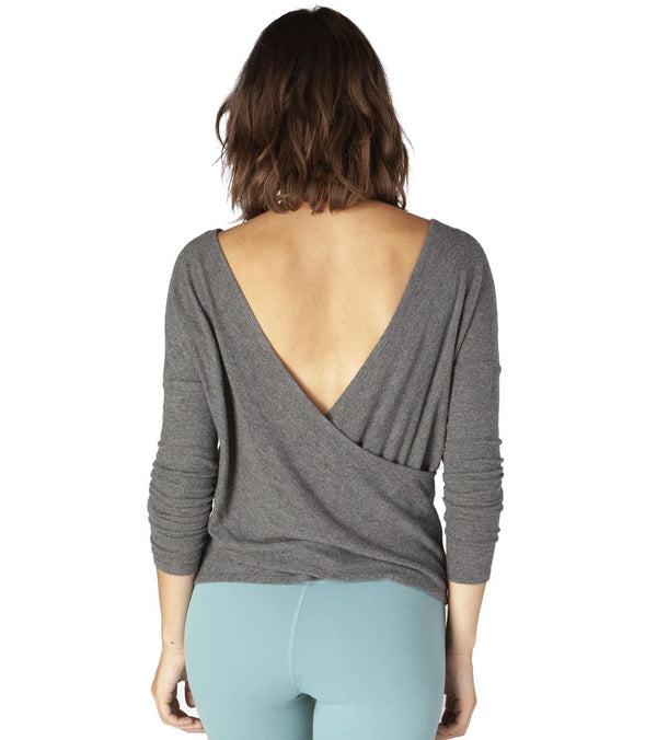 Beyond Yoga Brushed Back After Yoga Pullover