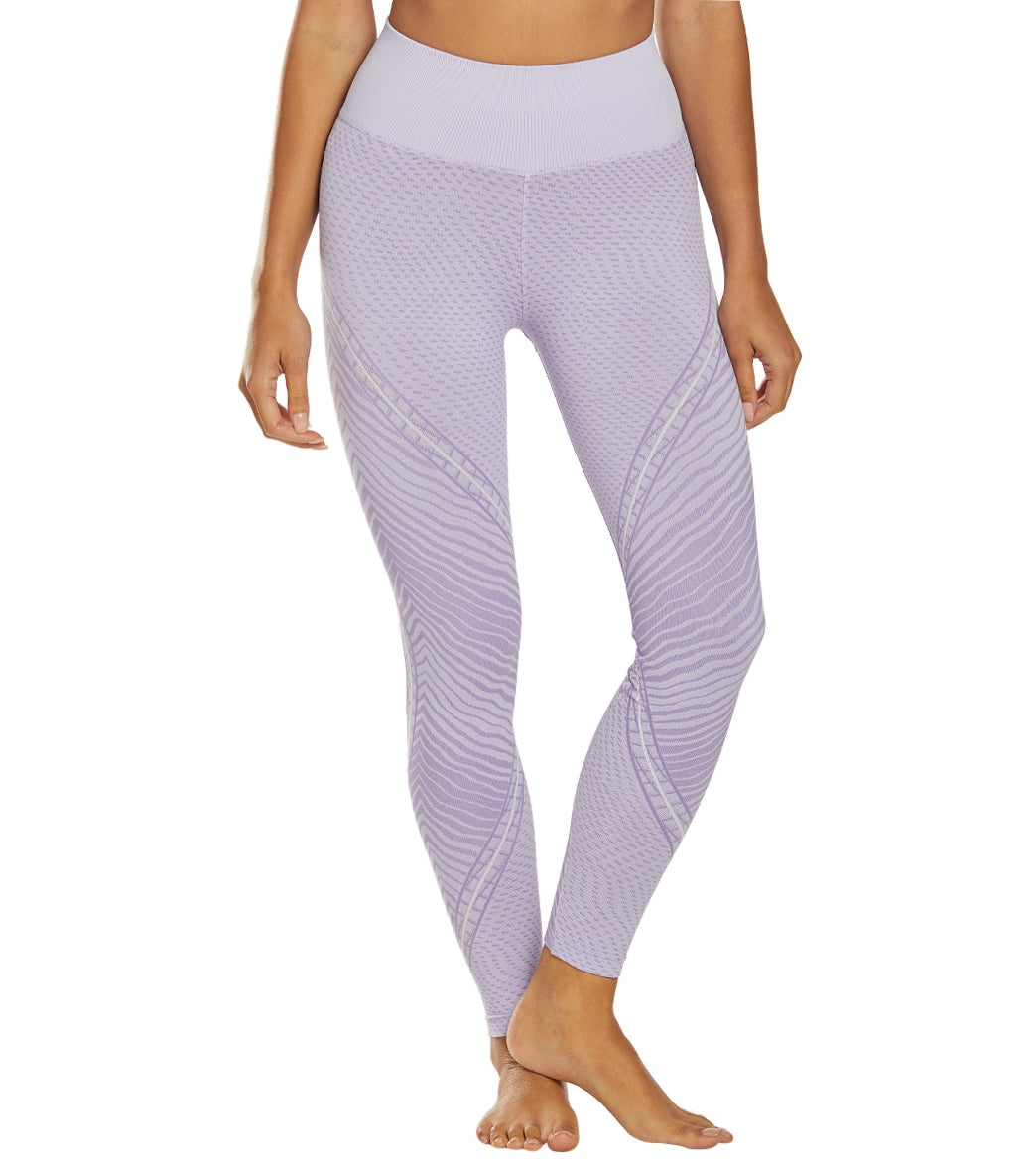 NUX Wildcat Seamless High Waisted Yoga Leggings - Daybreak Spandex