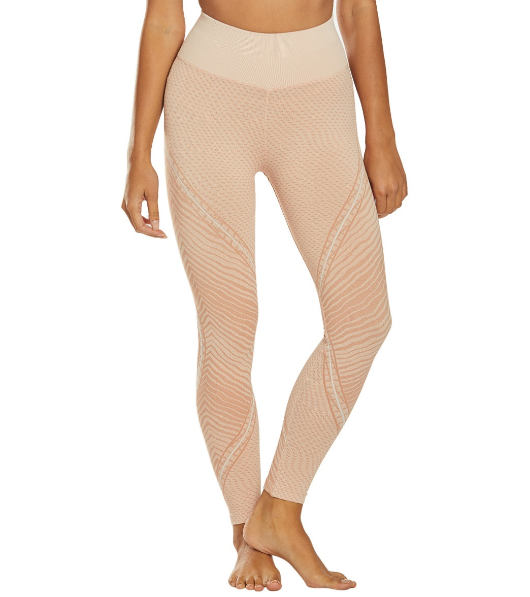 NUX Wildcat Seamless High Waisted Yoga Leggings - Not Nude Spandex