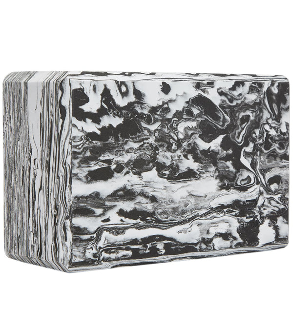 Everyday Yoga 4 Inch Marbled Foam Yoga Block