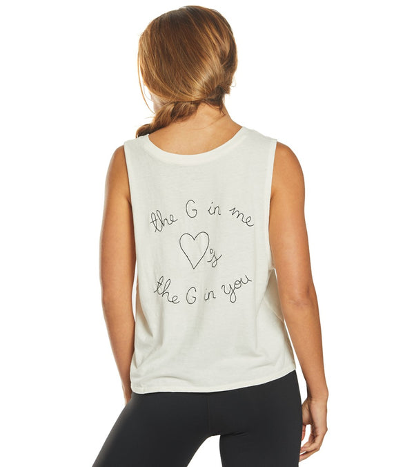 Spiritual Gangster G Love Deep V-Neck Tank