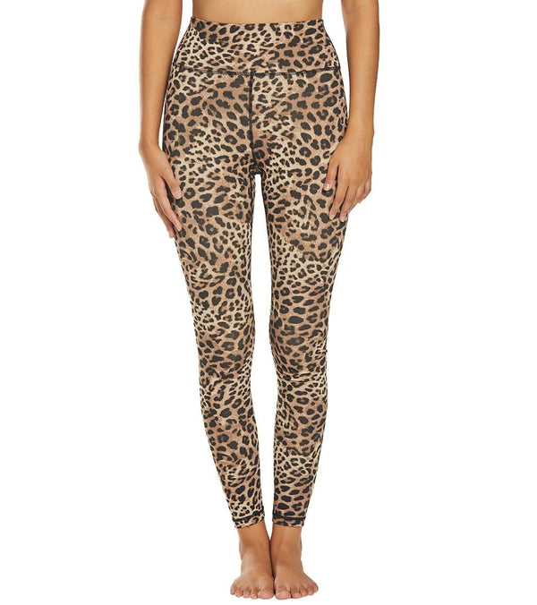 Spiritual Gangster Cheetah Perfect High Waisted Yoga Leggings
