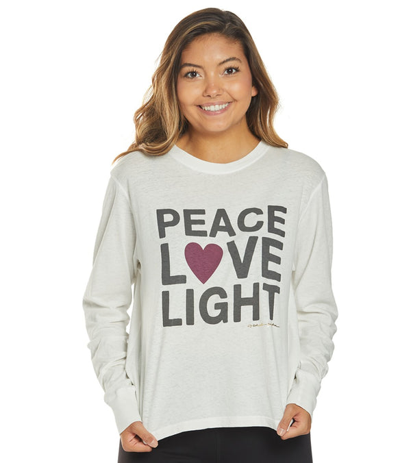 Spiritual Gangster Peace Brooke Long Sleeve Tee