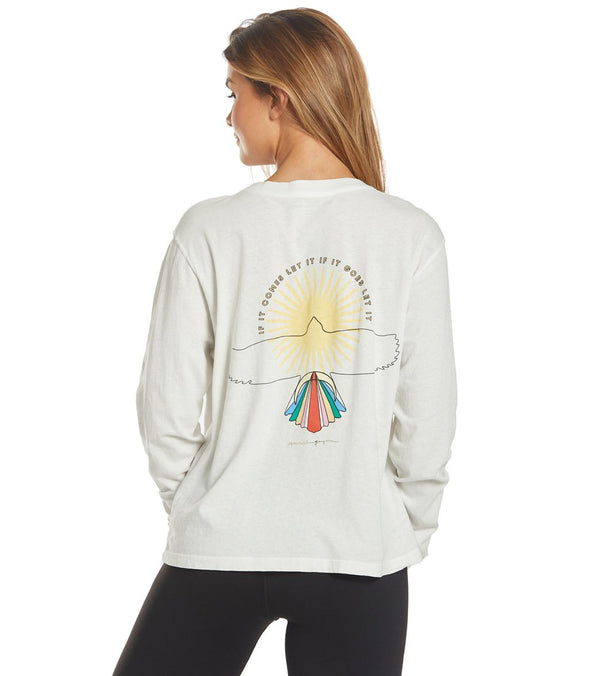 Spiritual Gangster Universe Brooke Long Sleeve Tee