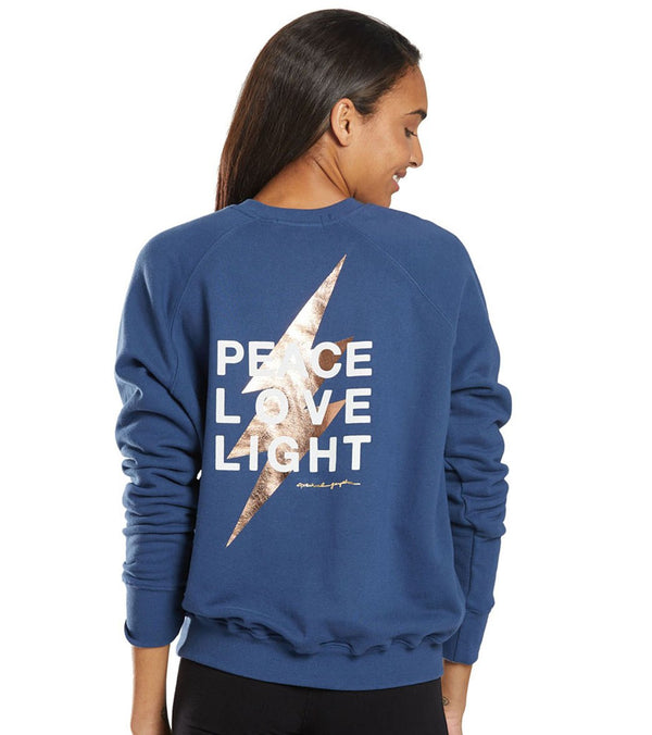 Spiritual Gangster Peace Classic Crew Pullover