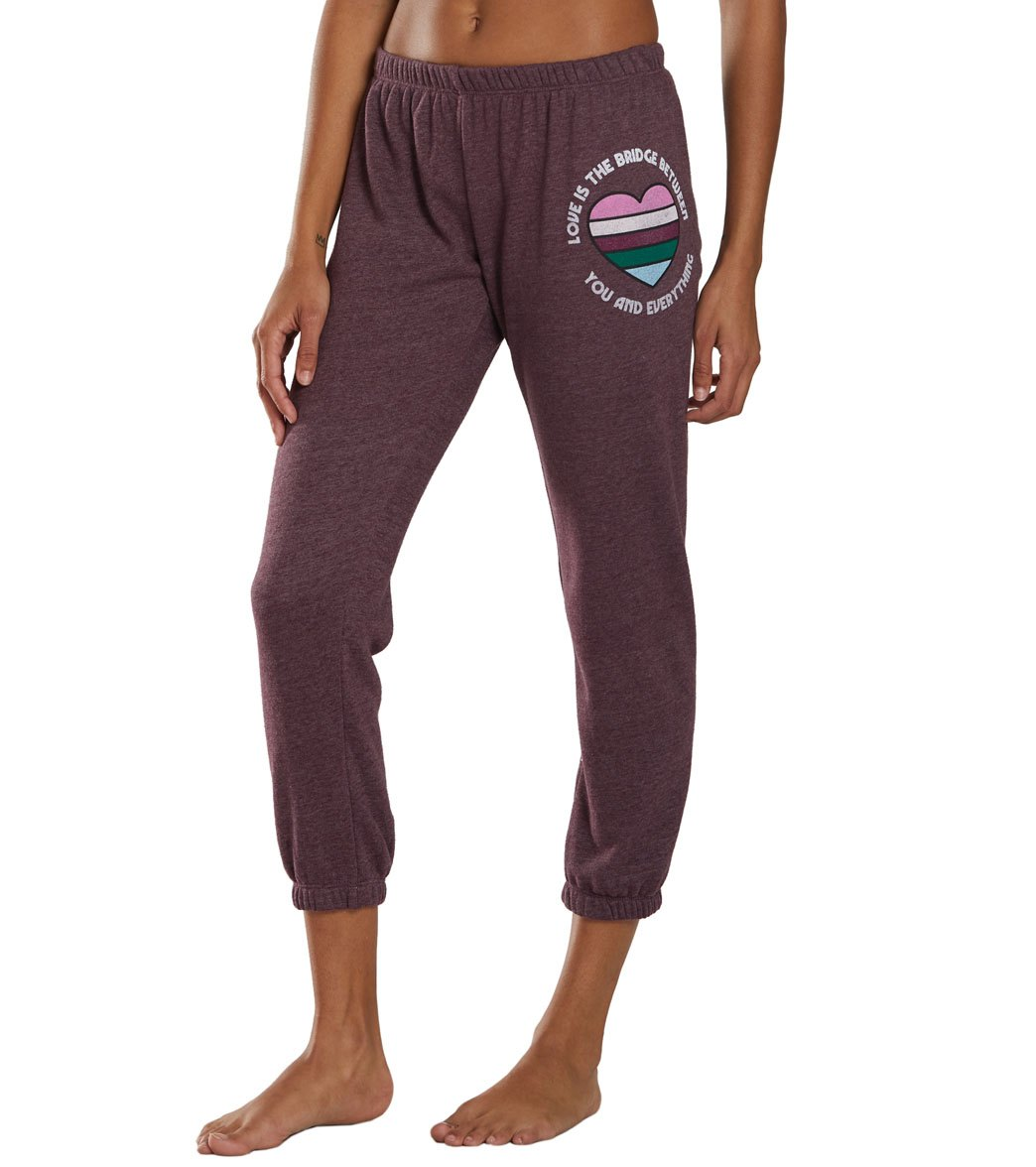 Spiritual Gangster Everything Perfect Sweatpants - Fig Cotton
