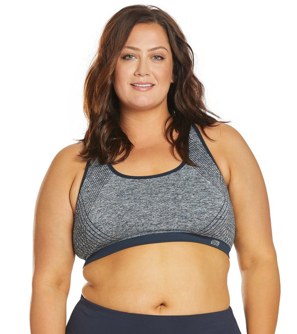 Marika Plus Size Marianne Seamless Yoga Sports Bra