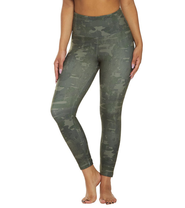 Marika High Waisted Printed Yoga Capris