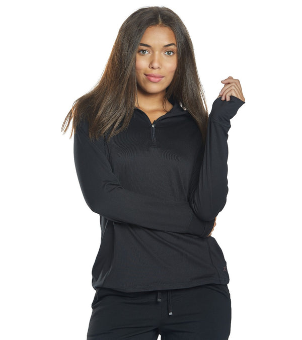 Danskin Quarter Zip Yoga Jacket