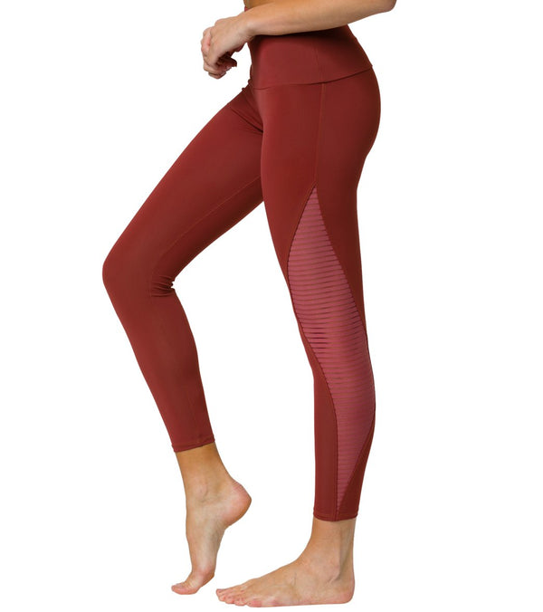 Onzie Shape Mesh 7/8 Yoga Leggings