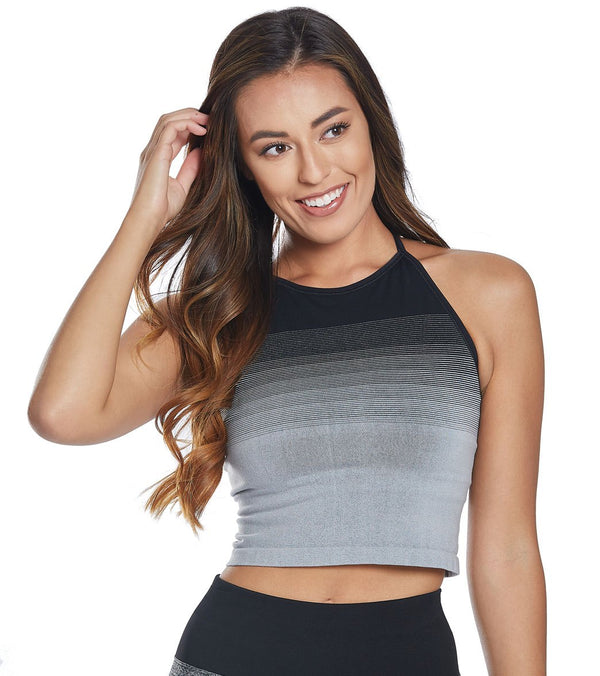 NUX Faded Seamless Yoga Crop Top