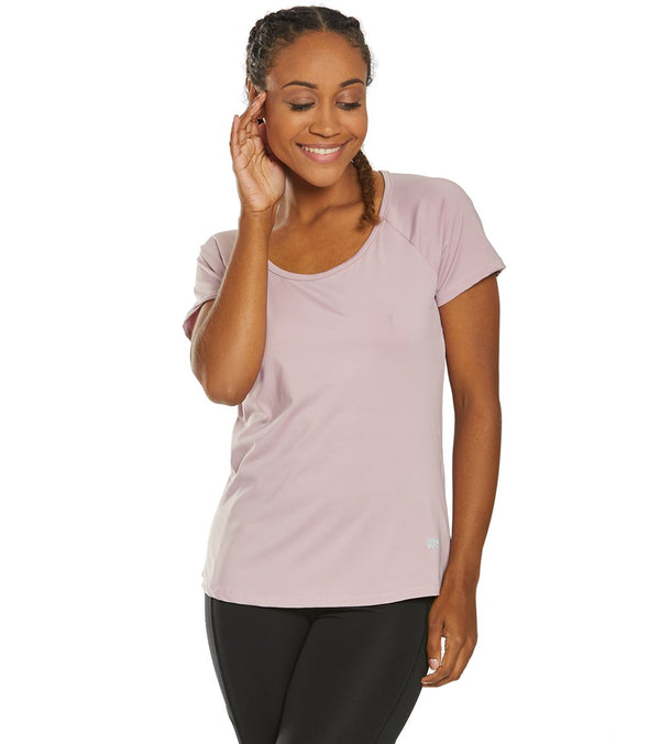 Marika Huntington Short Sleeve Yoga Tee