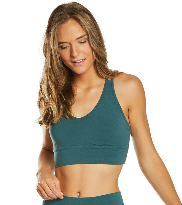 Hard Tail Midi Yoga Sports Bra