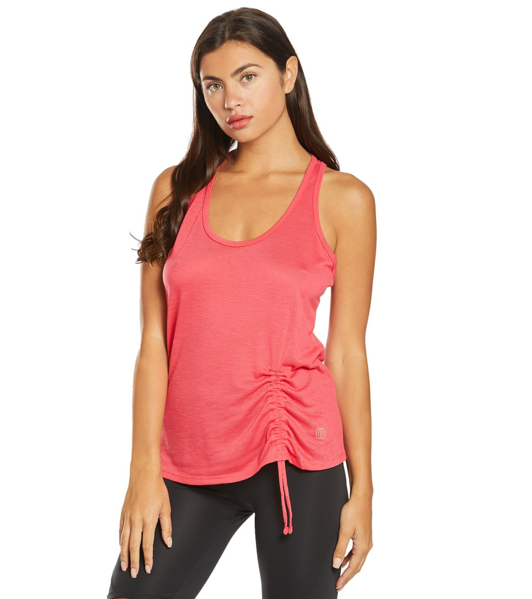 f95a89469fea5 Balance Collection Cleo Cinch Yoga Tank at YogaOutlet.com