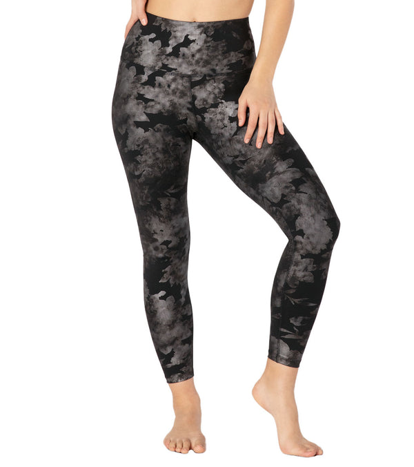 Beyond Yoga Foil Floral High Waisted 7/8 Yoga Leggings