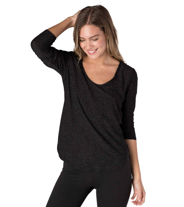 Beyond Yoga Cut And Run Yoga Pullover