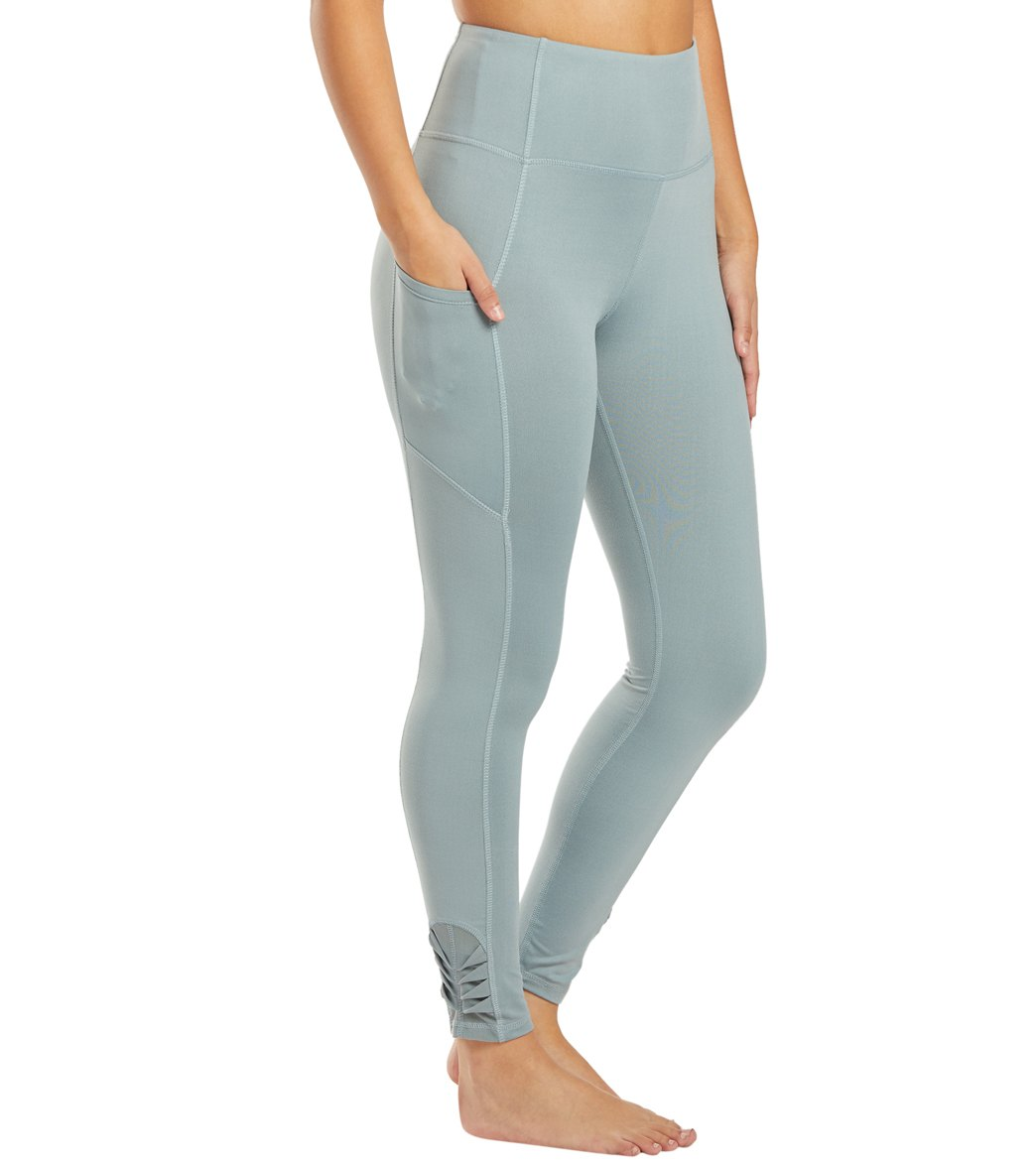 Balance Collection Aiden Yoga Leggings - Lead Cotton