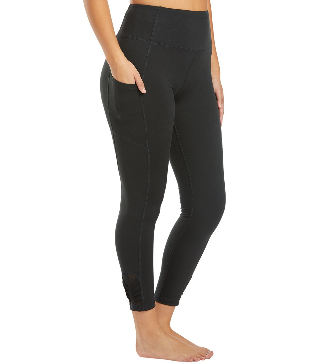 Balance Collection Aiden Yoga Leggings - Black Cotton