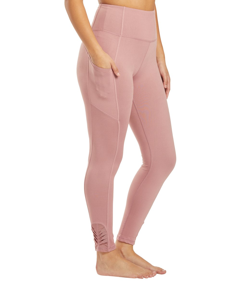 Balance Collection Aiden Yoga Leggings - Nostalgia Rose Cotton