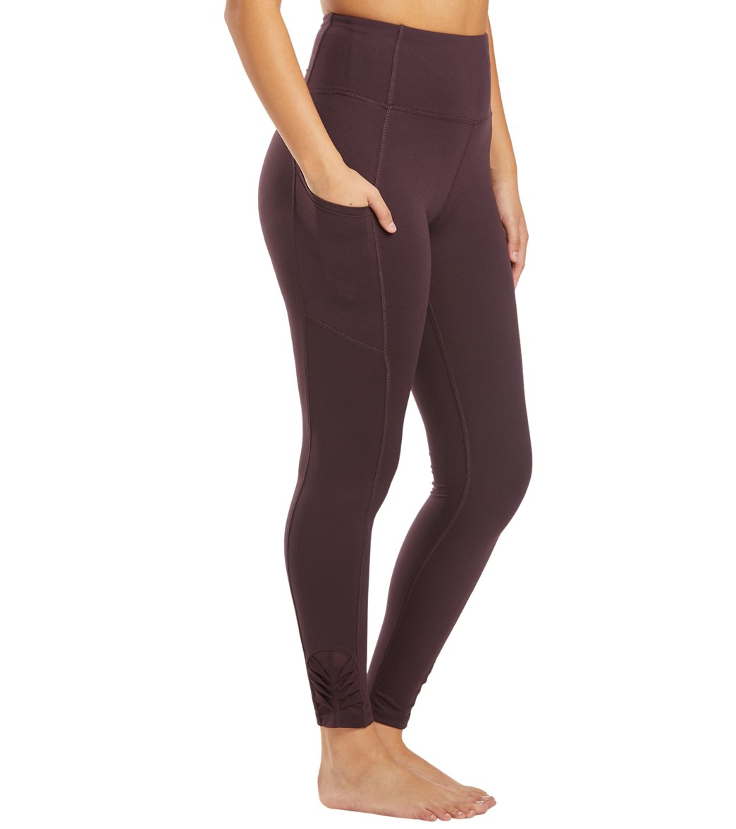 Balance Collection Aiden Yoga Leggings - Wild Plum Cotton
