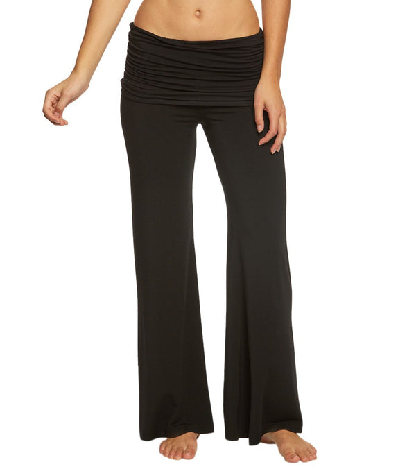 ​Hard Tail Ruched Waist Wide Leg Yoga Pants