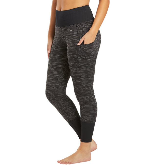 Marika Jordan Rib Trim Yoga Leggings