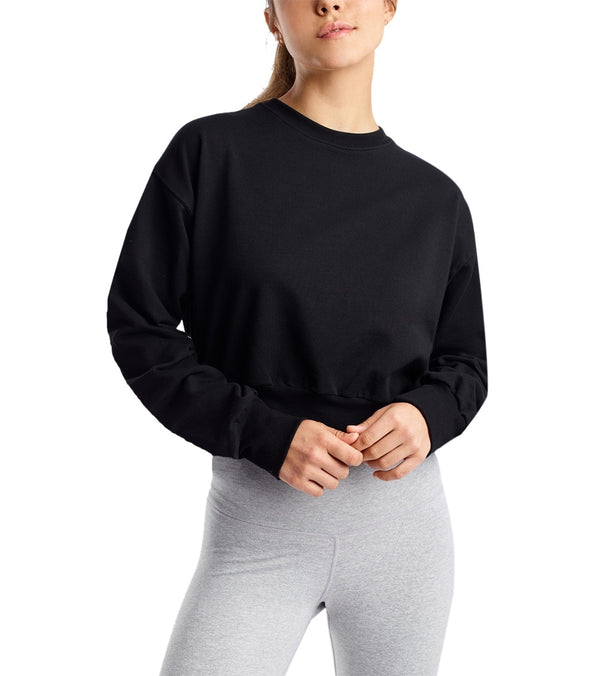 DYI Crop After Yoga Sweatshirt