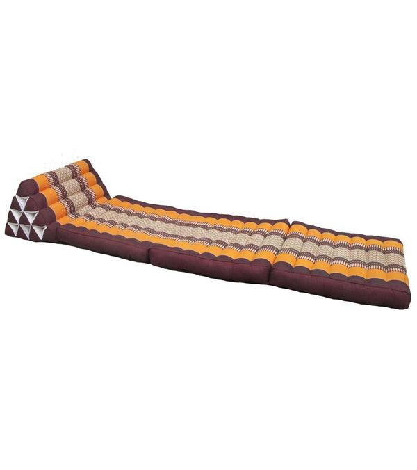 Zafuko Foldout Triangle Thai Cushion Bed