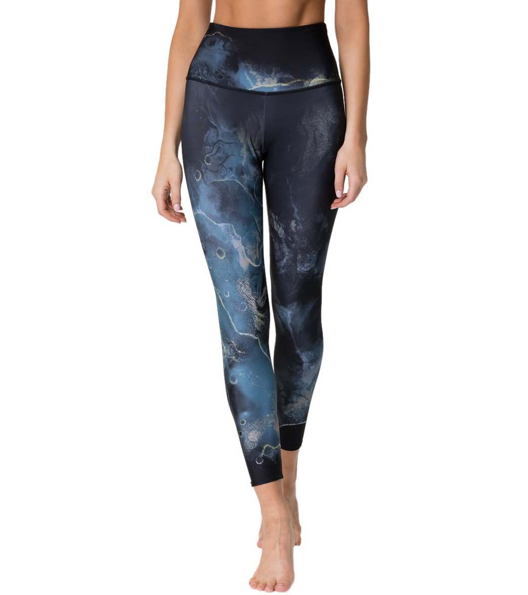 Onzie Graphic High Waisted 7/8 Yoga Leggings - Element Spandex