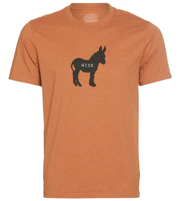 prAna Men's Wise Ass Journeyman Tee