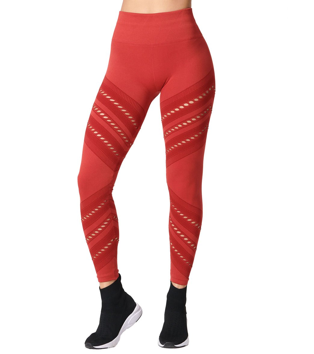 NUX Seamless High Life Yoga Leggings - Lover Spandex