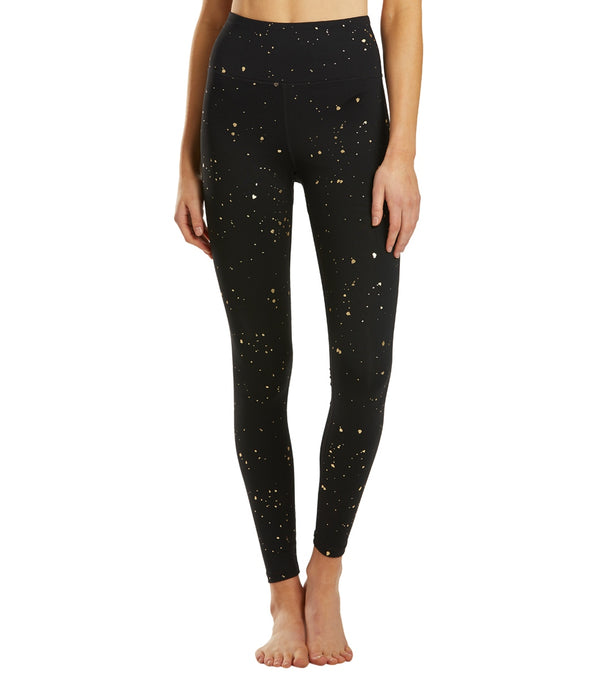 Spiritual Gangster Foil Print Essential High Waisted Yoga Leggings