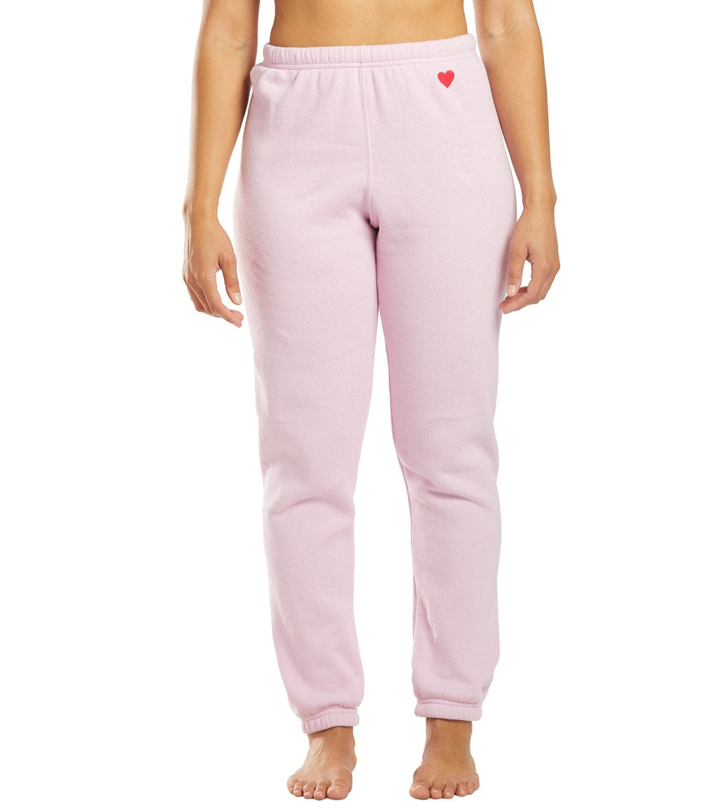 Spiritual Gangster Heart Sessions Sweatpants - Pink Orchid Cotton