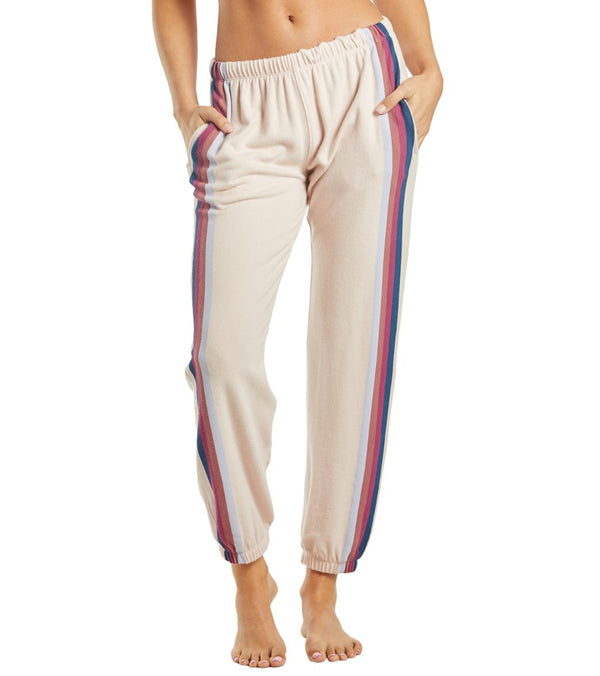 Spiritual Gangster Stripe Malibu Nights Sweatpants