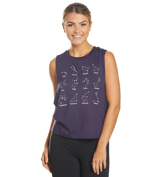 Everyday Yoga In The Stars Workout Muscle Tank